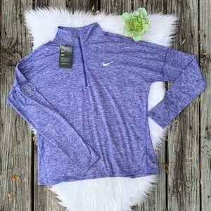 NWT Nike Dri-Fit Running Half Zip Pullover Jacket